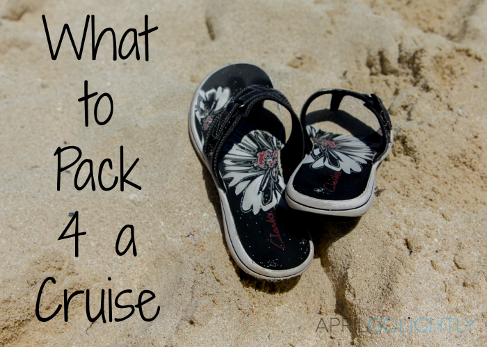 What to pack on a cruise