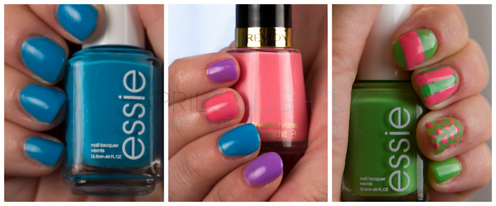 Spring Nail Polish Manicure Ideas with Essie and Revlon #walgreensbeauty #shop_