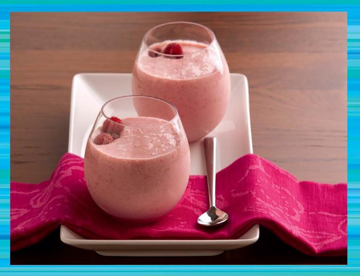 Rasberry-Smoothies