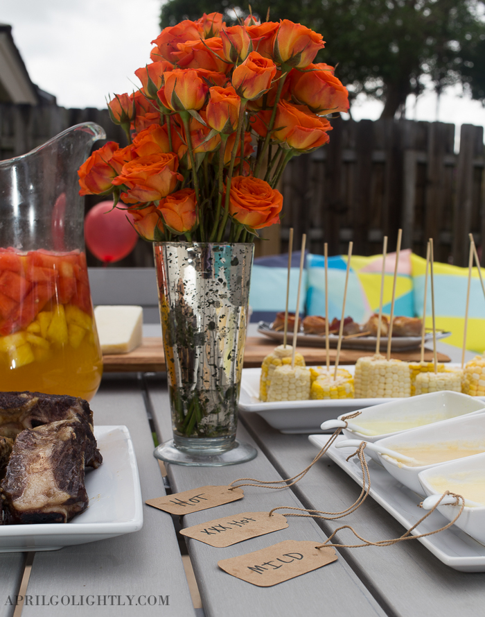 Summer Party Plan and Menu-8979