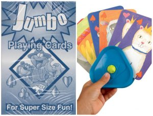 Jumbo Cards for Little Hands