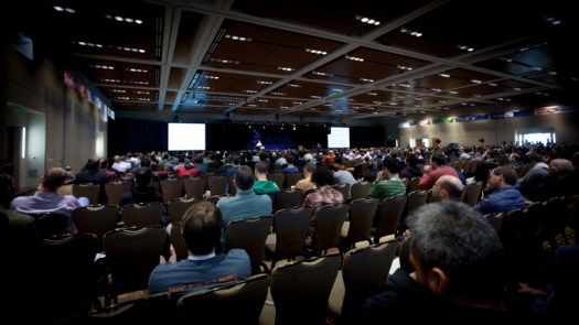The crowd at PyCon 2013