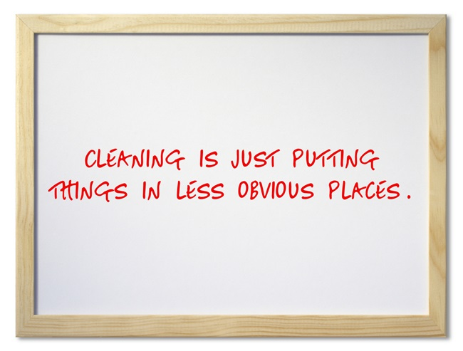 Cleaning-is-just-putting