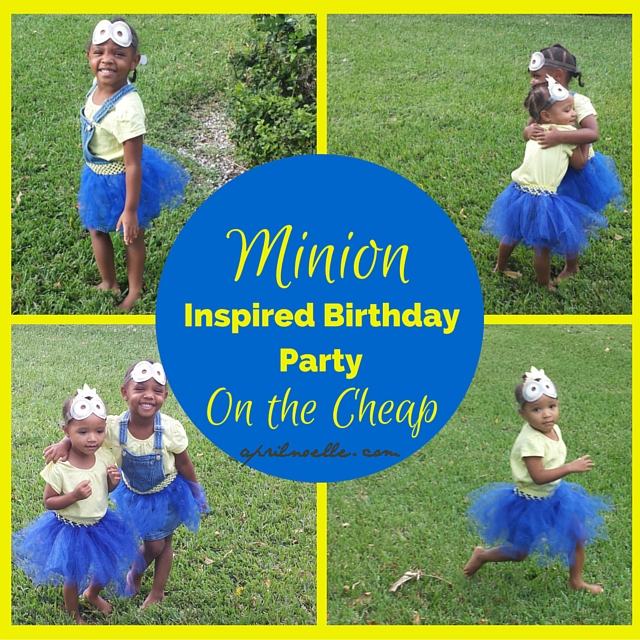 Minion Inspired Birthday Party on the Cheap - Girls