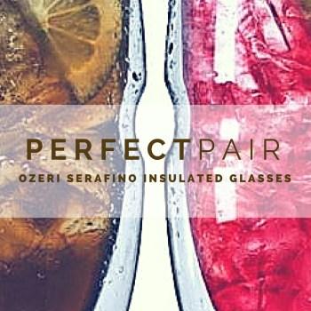 Perfect All Around Glass {Ozeri Serafino 16-ounce Glasses Review}