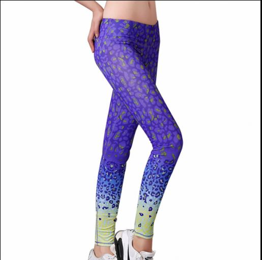 Blue and Green Leggings | PatPat