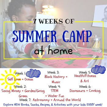 Summer Camp at Home: Music Theme {and many more themes}