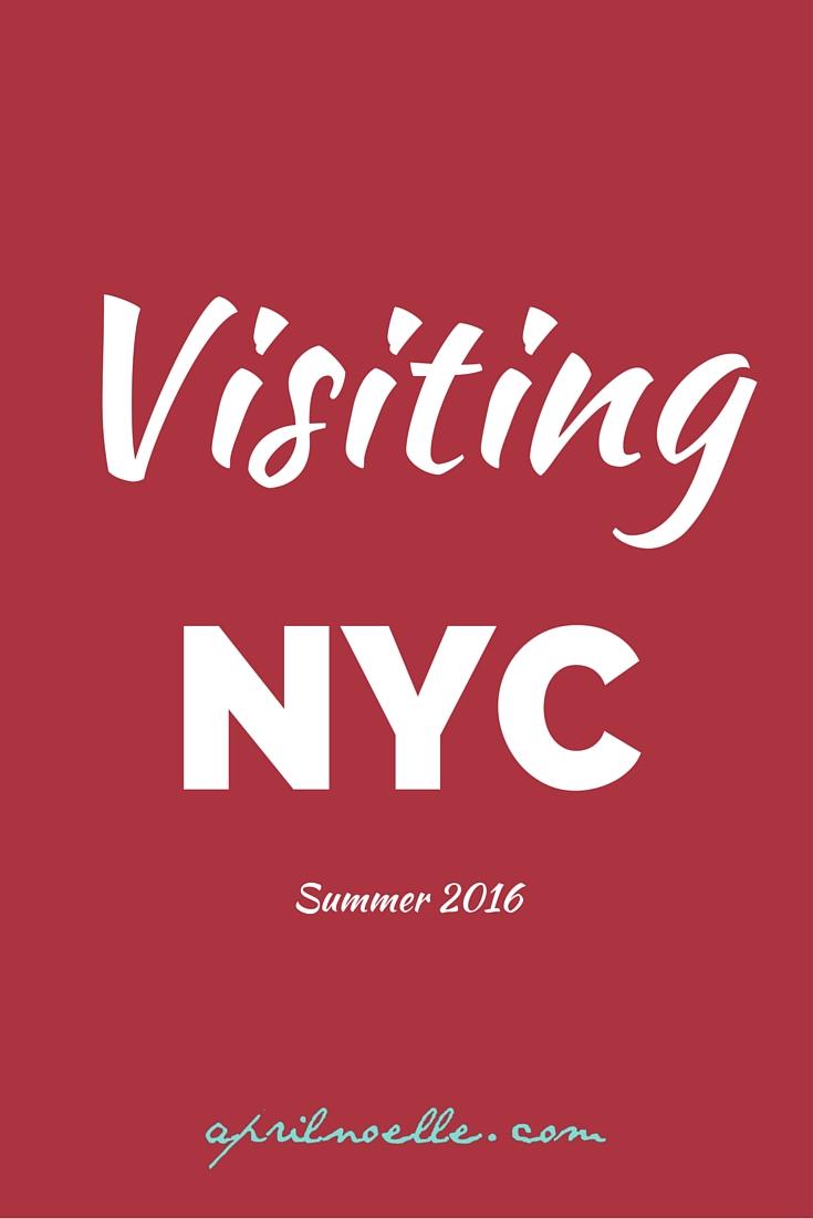 Visiting Midtown East, NYC Summer 2016