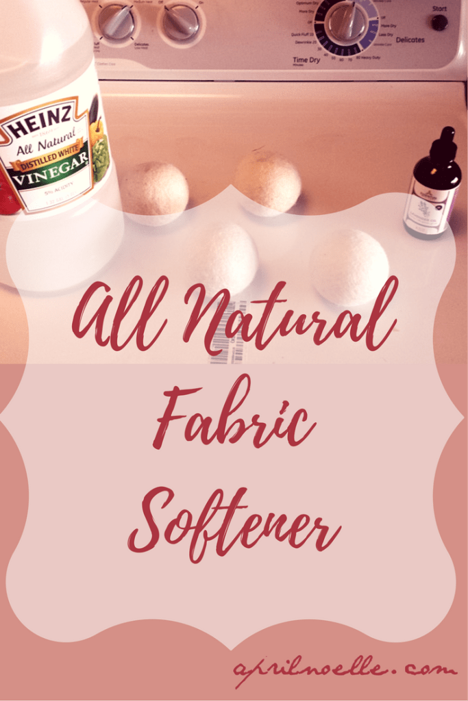 All Natural Fabric Softener | AprilNoelle.com
