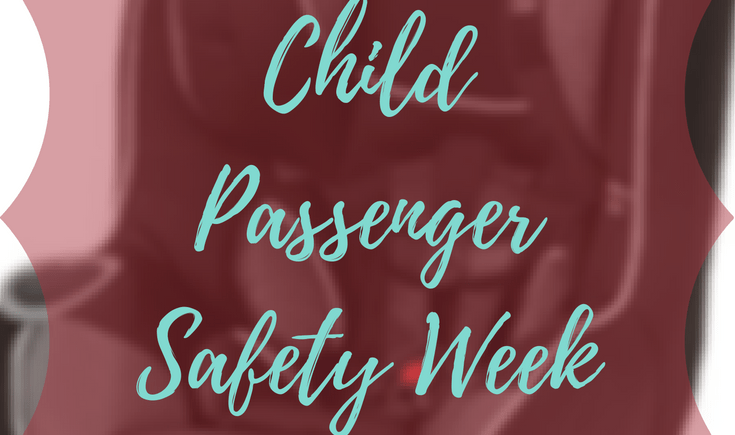 Honoring Child Safety Week sponsored by Diono | AprilNoelle.com