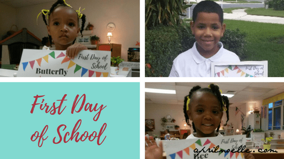Feeling Anxiety on the First Day of School {Not Them, Me} | AprilNoelle.com