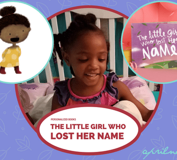 The Little Girl Who Lost Her Name | Personalized Books | AprilNoelle.com
