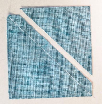 half square triangle quilting quilt tutorial shortcut