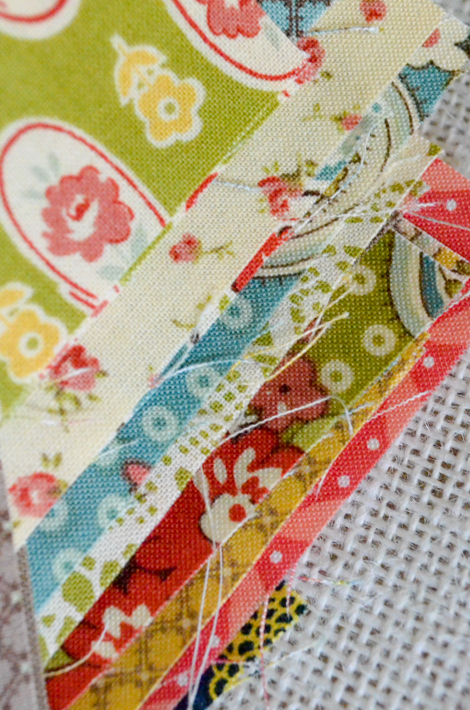 Stack of quilt blocks - aprilrosenthal.com