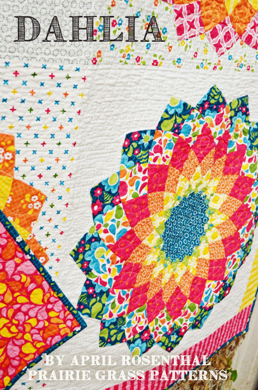 Dahlia Quilt: my ROYGBIV quilt – april rosenthal : online quilt designer - Adamdwight.com