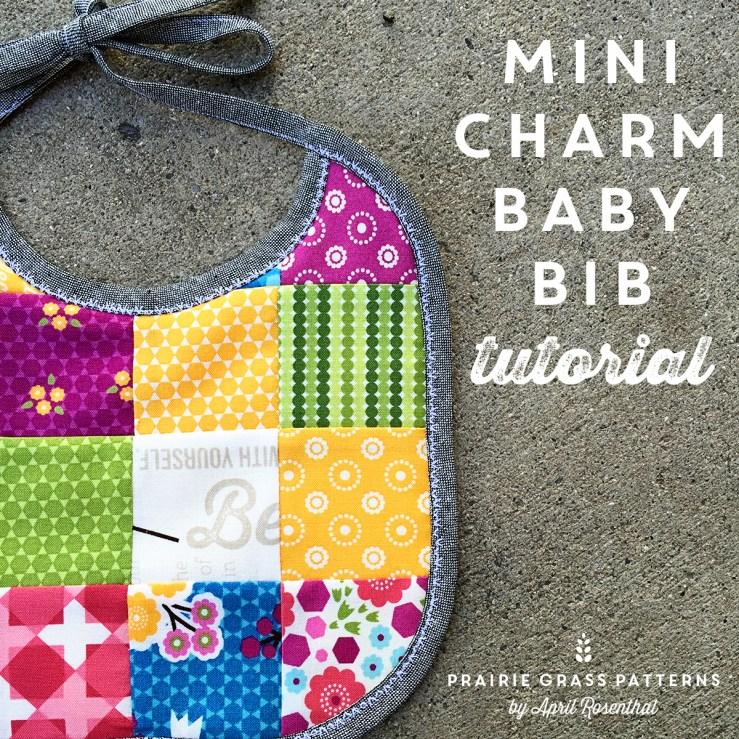 MiniCharm Baby Bib by April Rosenthal