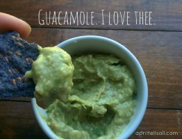 Guacamole. I Love Thee.