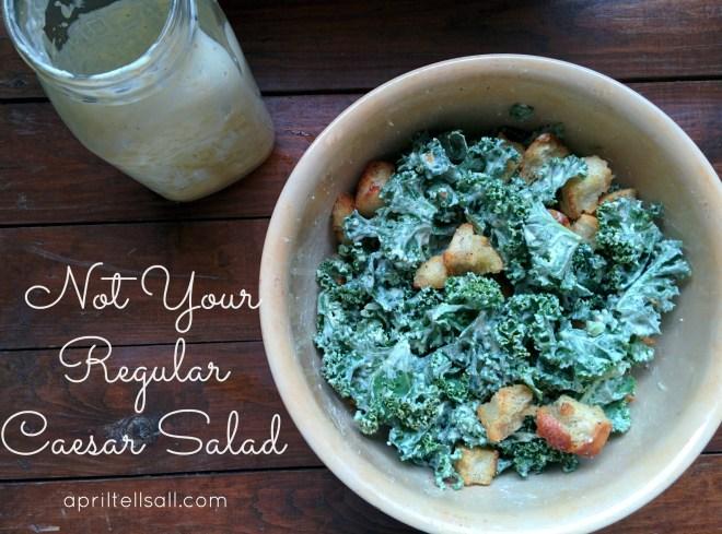 Not your regular caesar salad!
