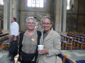 I found my friend Inger Lise Rasmussen, from Denmark!