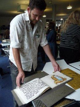 Daniel's woodblock book