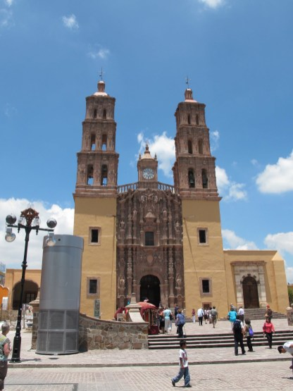 the church at Dolores Hidalgo