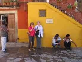 Carole and Kristen explored Guanajuato for a few extra days