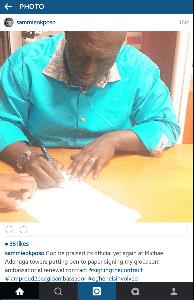 Sammie Okposo Renews Glo Deal