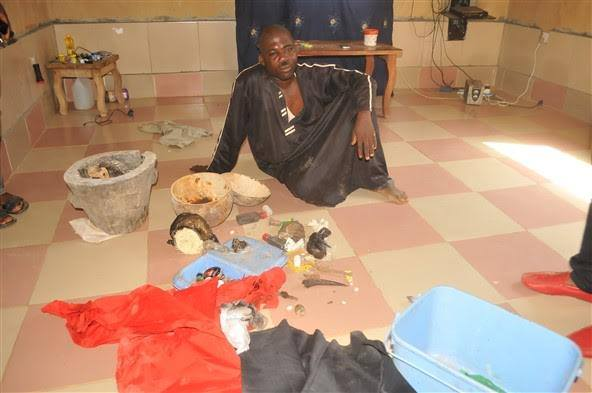 CAC Pastor Nabbed With Charms In Ondo