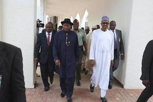 Buhari, Jonathan Hold Secret Meeting