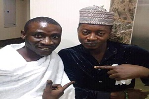 Taye Currency, Muri Thunder In Mecca For Umrah (Photos)