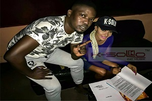K-Solo Signs Talented Female Act, Ma'Diva