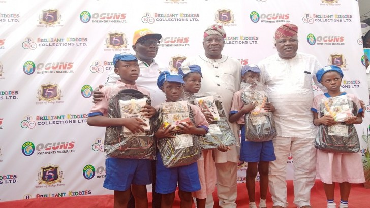 Rainbow Foundation Showers Gifts On Lagos Island Residents