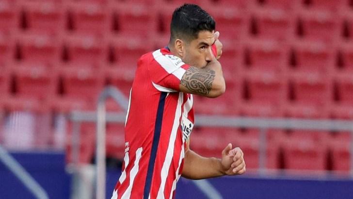 Luis Suarez Scores Twice on Atletico Madrid Debut