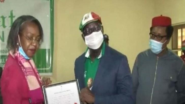 Obaseki, Shaibu Receive Certificate Of Return From INEC