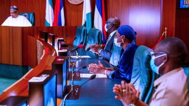 Buhari Receives Obaseki, Shaibu In Courtesy Visit