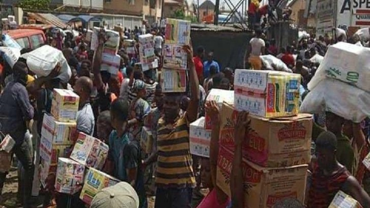 Lagos Condemns Looting of CACOVID Palliatives