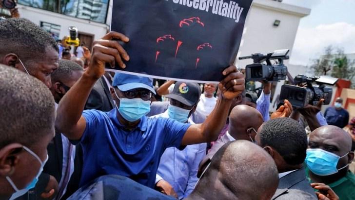 Sanwo-Olu Joins Lagos EndSARS Protest