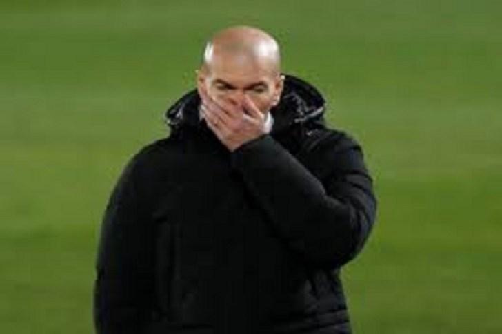 Real Madrid Coach Zinedane Zidane