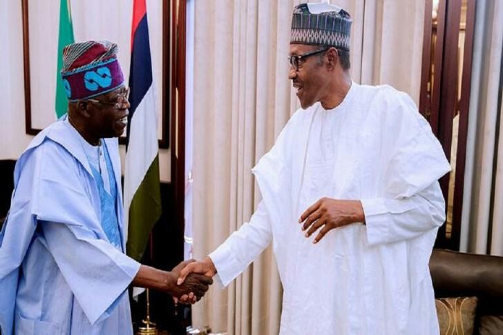 Asiwaju Bola Ahmed and President Buhari