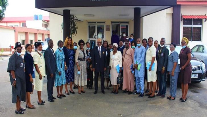 Nursing and Midwifery Council of Nigeria Accreditation Team Visits LASUTH