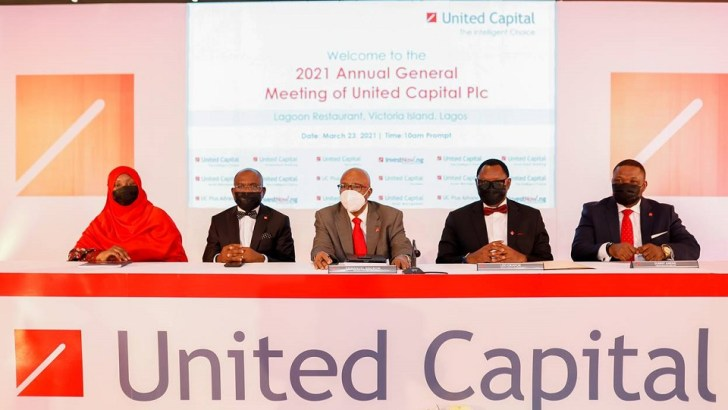 United Capital Plc Holds 2021 Annual General Meeting; Shareholders To Receive N4.2billion Dividend Payout