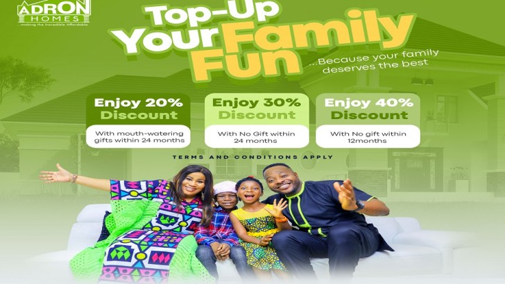"""You're N25k Away From Being a Landlord in the Adron Homes """"Easter Family Fun"""" Promo"""
