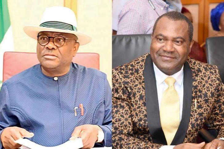 Governor Wike and Dr Igbiks Ttamuno