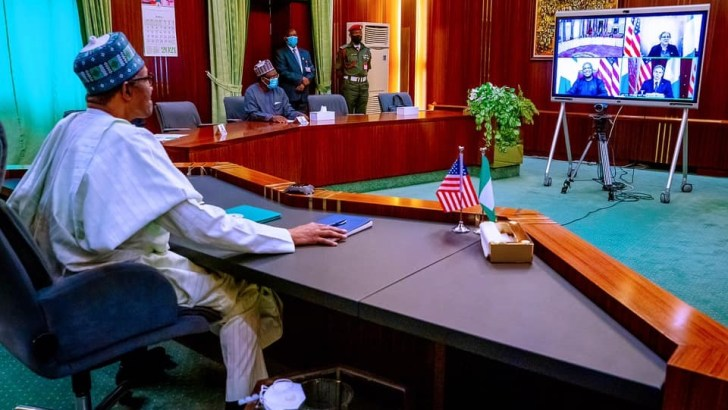 Security: President Buhari Asks U.S To Relocate Headquarters Of AFRICOM To Africa, Warns Of Likely Spillovers