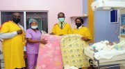 Mouka Gives the Gift of Comfort to Babies Born on Children's Day