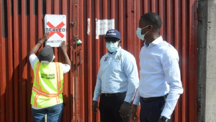 Lagos Seals Off Chinese Firm Over Teenage Worker's Death