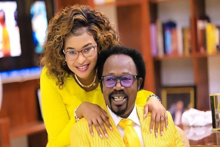 Prophet Iginla and wife