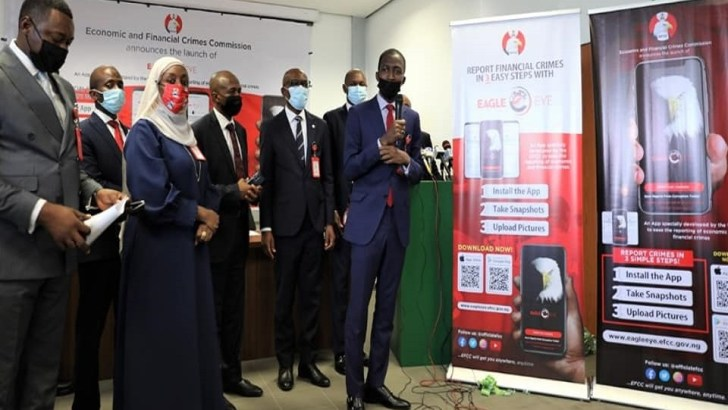 EFCC Launches 'Eagle Eye', An Online App for Reporting Economic Crimes