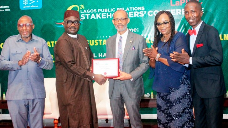 NIPR Recognizes Sanwo-Olu's Contributions, as delegates discuss Healthcare at Annual Conference