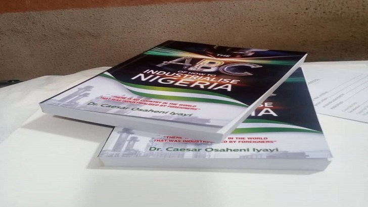 Book on Industrialisation – 'The ABC of How to Industrialise Nigeria' to be launched